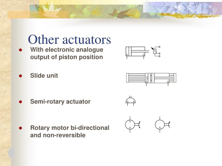 Other actuators