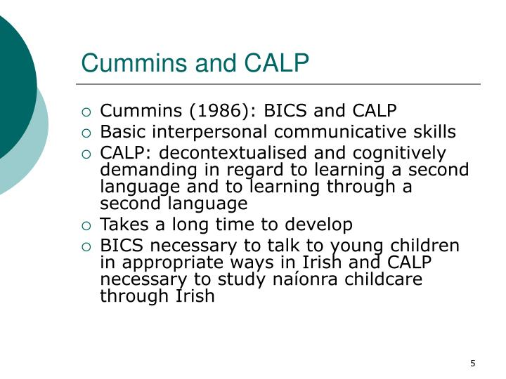 Cummins and CALP