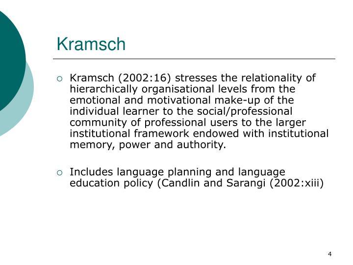 Kramsch