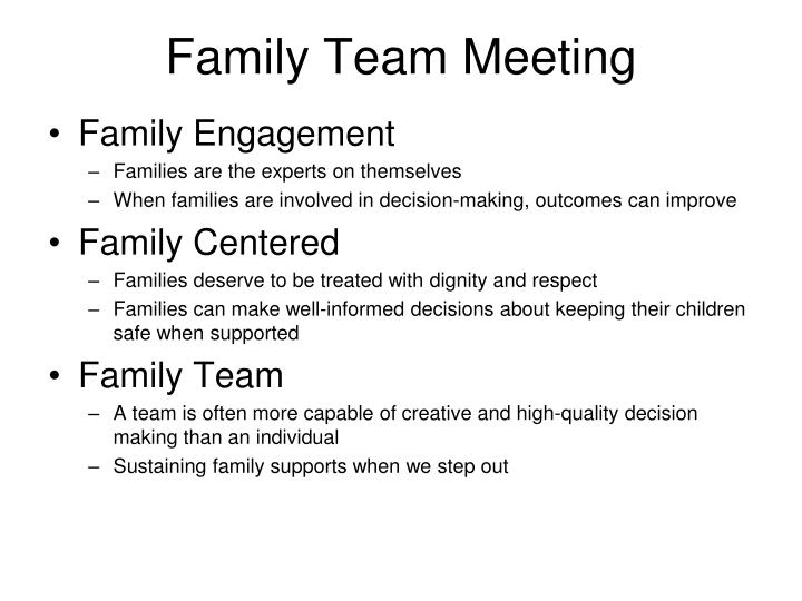 Family team meeting1