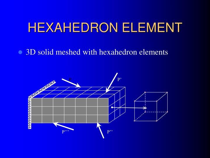 HEXAHEDRON ELEMENT