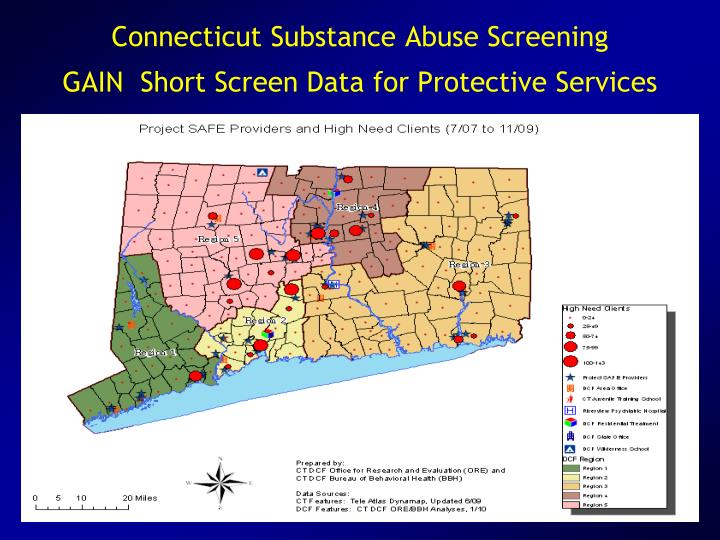Connecticut Substance Abuse Screening