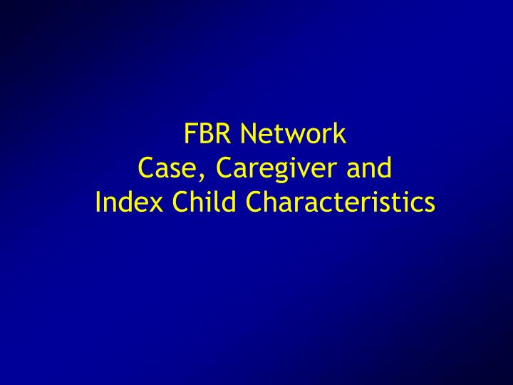 FBR Network