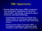 fbr opportunity