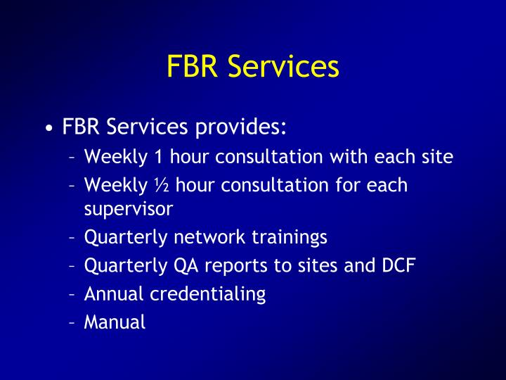 FBR Services