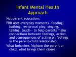infant mental health approach1