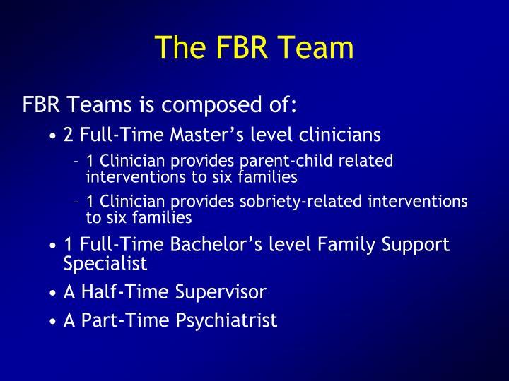 The FBR Team
