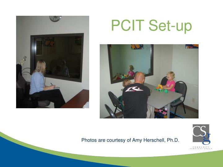 PCIT Set-up