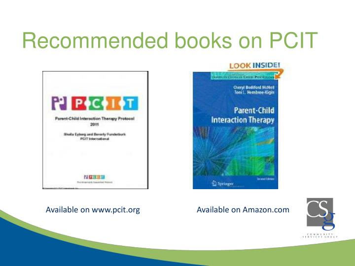 Recommended books on PCIT