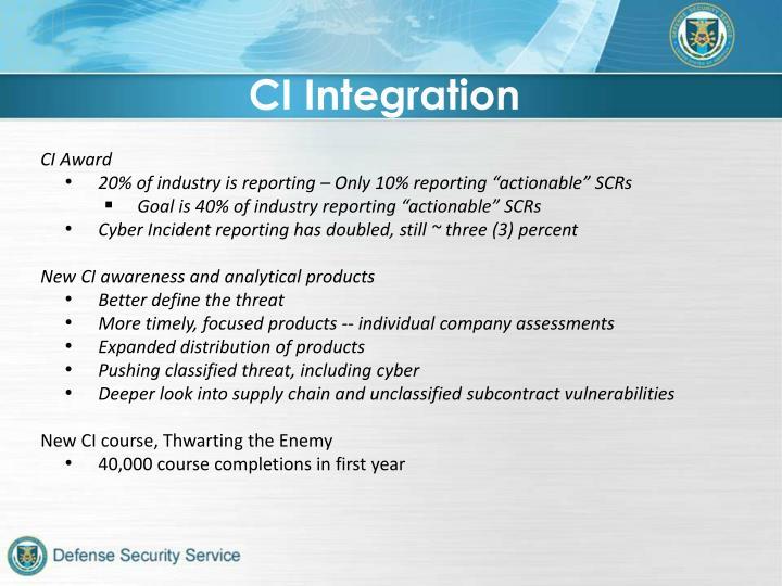 CI Integration