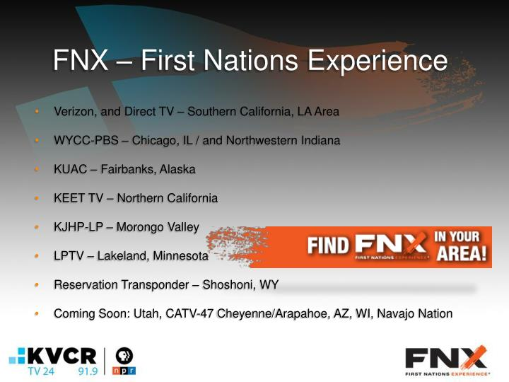 FNX – First Nations Experience