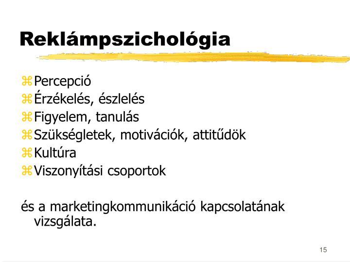 Reklámpszichológia
