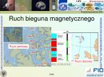ruch bieguna magnetycznego