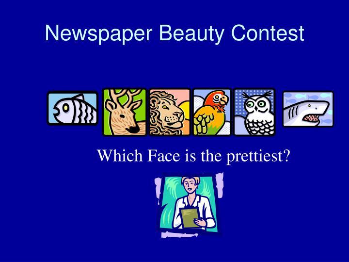 Newspaper Beauty Contest