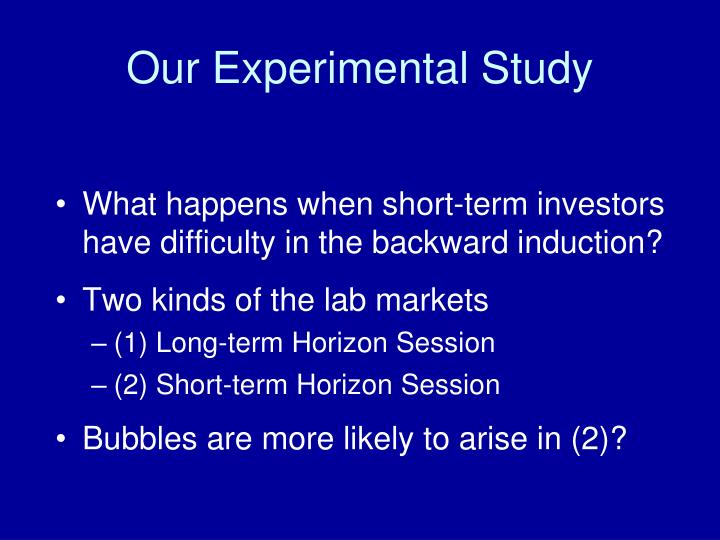 Our Experimental Study
