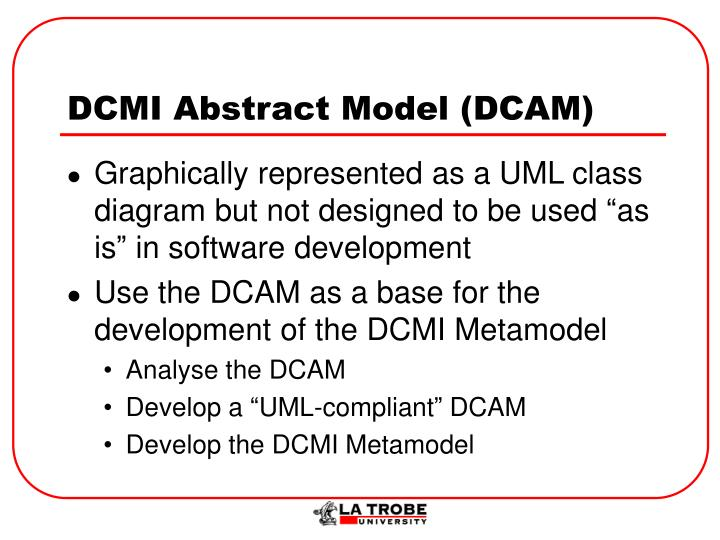 DCMI Abstract Model (DCAM)