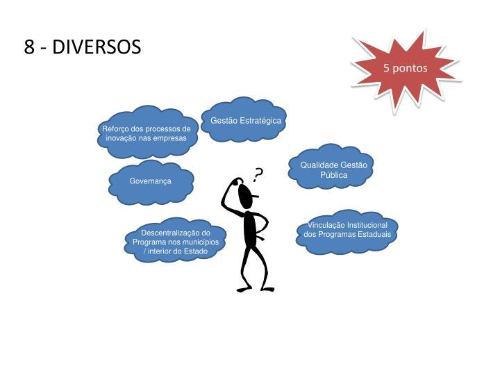 8 - DIVERSOS