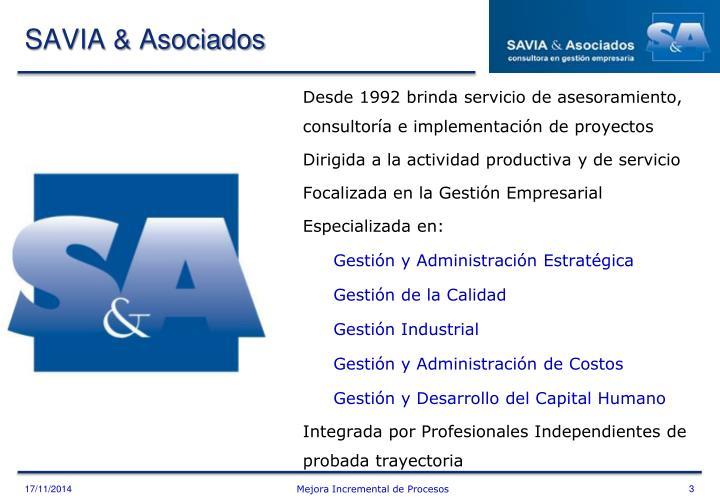 SAVIA & Asociados