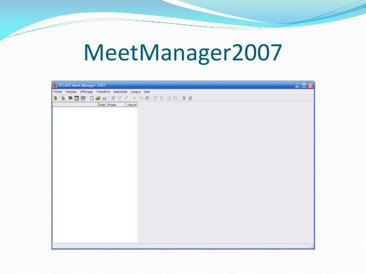 MeetManager2007