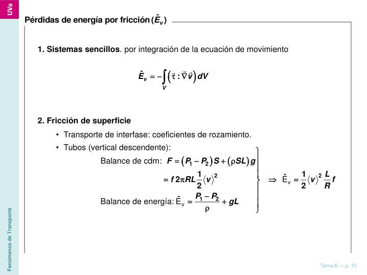 1. Sistemas sencillos