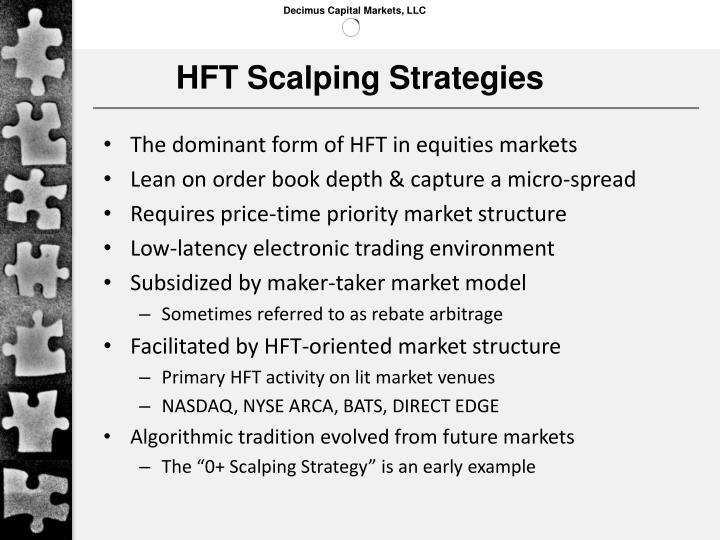 HFT Scalping Strategies