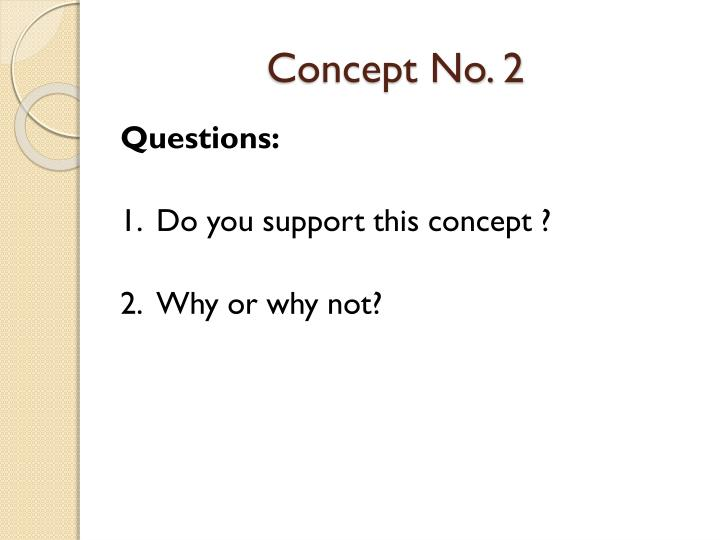 Concept No. 2
