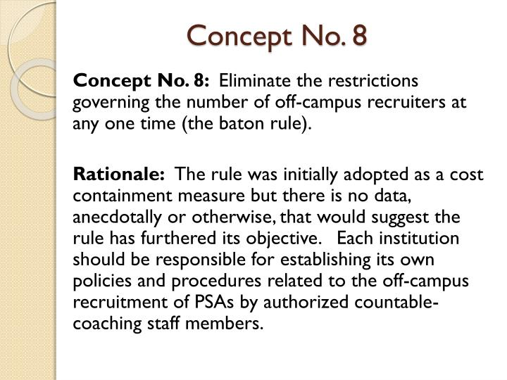 Concept No. 8