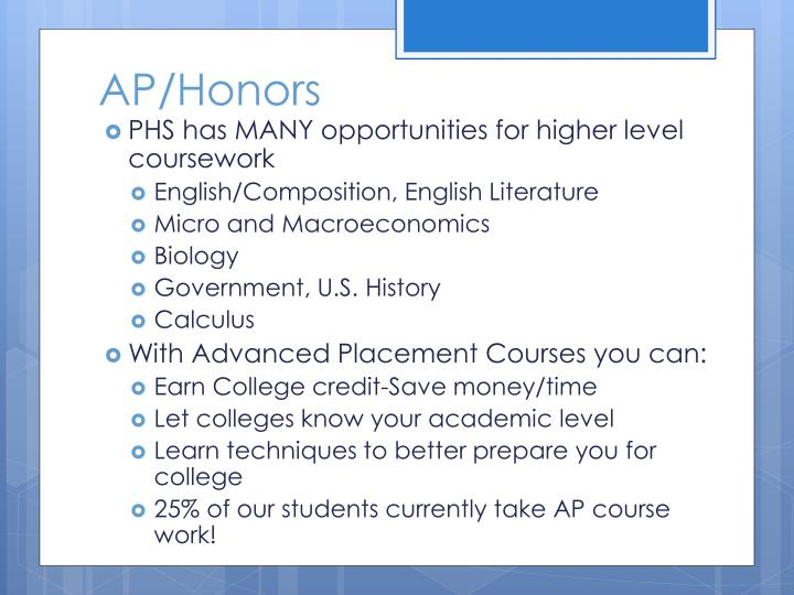 AP/Honors