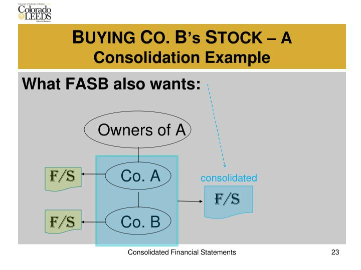 What FASB also wants: