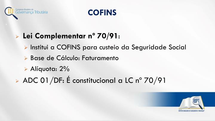 COFINS