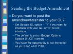 sending the budget amendment1