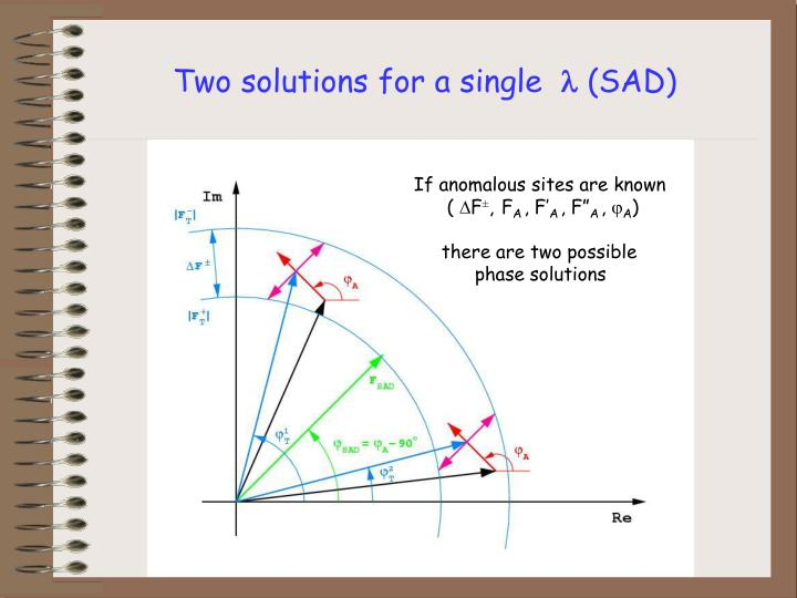Two solutions for a single