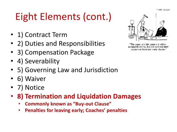 Eight Elements (cont.)