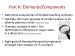 part a elements components