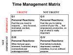 time management matrix1