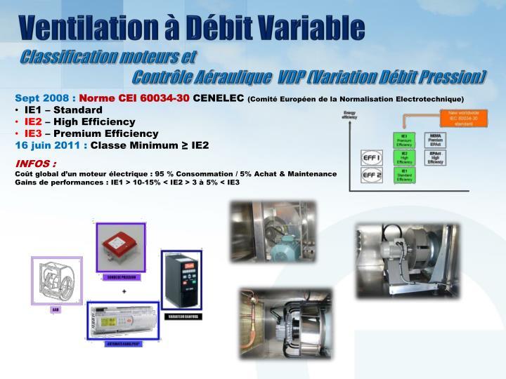 Ventilation à Débit Variable