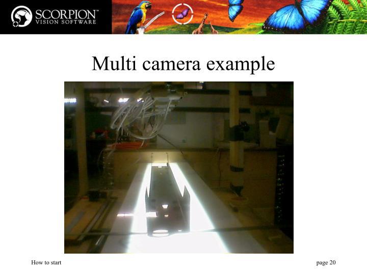 Multi camera example