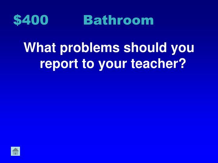 $400 Bathroom