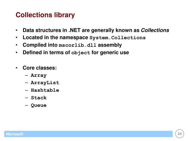 Collections library