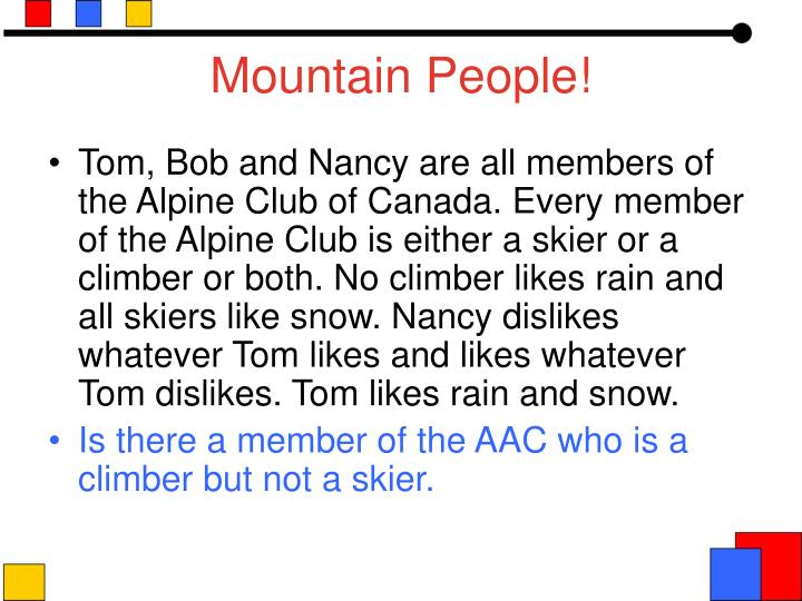 Mountain People!