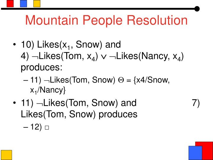 Mountain People Resolution