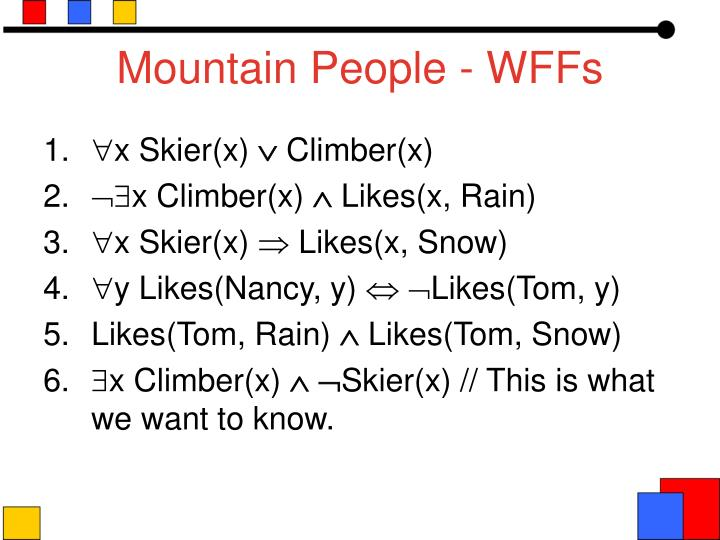 Mountain People - WFFs
