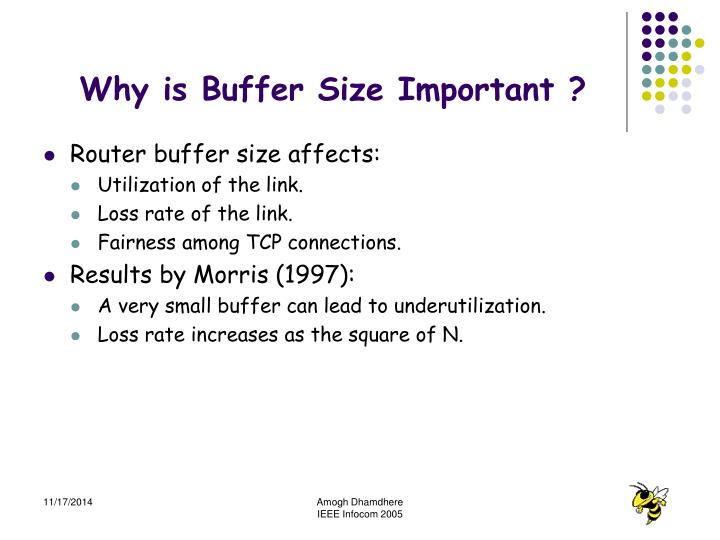 Why is Buffer Size Important ?