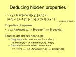 deducing hidden properties