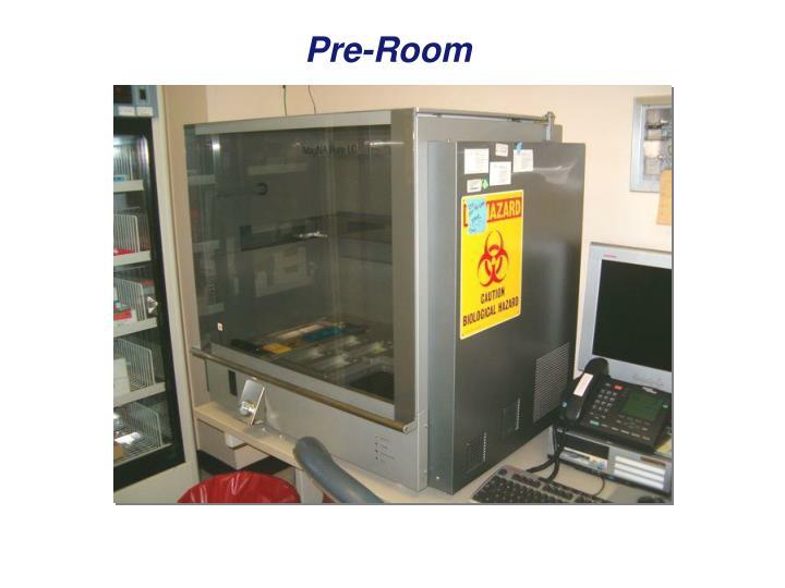 Pre-Room