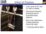 effect of position1