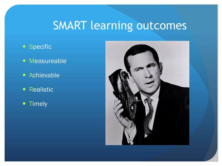 SMART learning outcomes