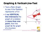 graphing vertical line test