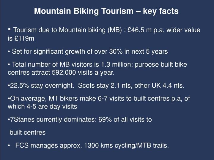 Mountain Biking Tourism – key facts