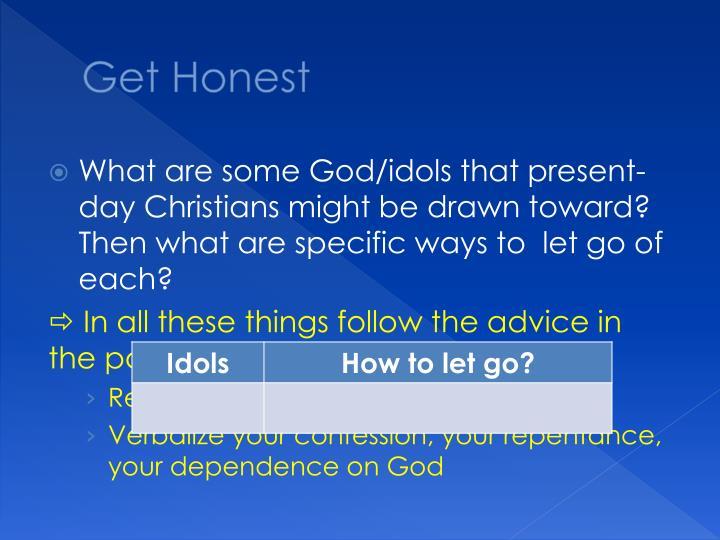 Get Honest